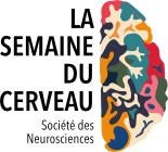 Logo de la Semaine du Cerveau, un événement coordonné par la Société des Neurosciences