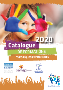 Image de la couverture du catalogue de formation 2020