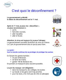 Explication en français simplifié et pictogrammes