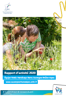 Page de couverture du rapport d'activité